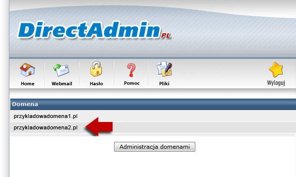 Hosting - wybór domeny