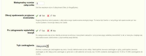 Ustawienia ogólne cz.5